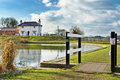 Lock-keeper's cottage, Foxton locks Stock Photos