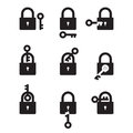 Lock and Key Royalty Free Stock Photo