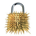 Lock padlock security Royalty Free Stock Photography
