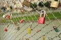 Lock symbol love Royalty Free Stock Photography