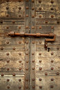 Locked door Stock Photos