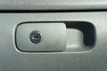 Locked storage space of a car interior Stock Images