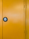 Locker door Stock Photography