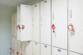 Lockers cabinets Royalty Free Stock Photo