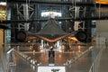 Lockheed SR-71 Blackbird / Air and Space Museum Royalty Free Stock Photo