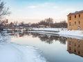 The Locks At Sunrise Royalty Free Stock Photo