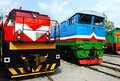 Locomotivas Railway Fotos de Stock Royalty Free