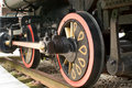 Locomotive wheel Stock Photos