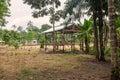 Encampment, Cuyabeno Wildlife Reserve Royalty Free Stock Photo