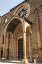 Lodi church of san francesco lombardy italy medieval Royalty Free Stock Photo