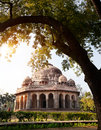Lodi garden mohammed shahs tomb in new delhi india Stock Photography
