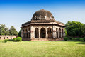 Lodi gardens architectural works of the th century sayyid and lodhis an afghan dynasty new delhi Royalty Free Stock Image