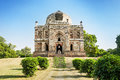 Lodi gardens architectural works of the th century sayyid and lodhis an afghan dynasty new delhi Royalty Free Stock Images