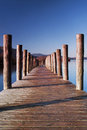 Lodore Landing Stage Royalty Free Stock Photo