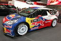 Loeb and Elena rallye Citroen DS3 WRC Royalty Free Stock Photo