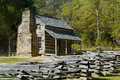 Log Cabin, cades cove, Great Smoky Mountains Park Royalty Free Stock Photos