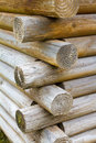 Log Cabin Detail Stock Photography