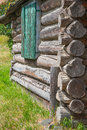Log Cabin Detail Royalty Free Stock Photo
