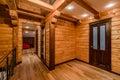 Log cabin Royalty Free Stock Photo