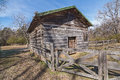 Log Cabin. Royalty Free Stock Photo