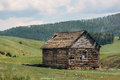 Log Cabin Ruin Royalty Free Stock Photo
