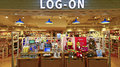 Log on shopping store hong kong is a popular style happy customers shop for their products from around the world specializes in Royalty Free Stock Photo