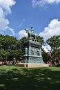 Logan Circle Park in Washington DC Royalty Free Stock Photo