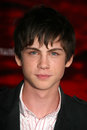 Logan lerman los angeles premiere number orpheum theater los angeles ca Stock Photo