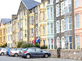 Logement barmouth pays de galles Photos stock