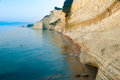 Loggas beach peroulades beach sunset beach corfu island gree beautiful view of the at Stock Image
