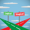 Logical and illogical