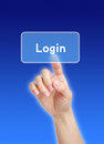 Login Royalty Free Stock Photo
