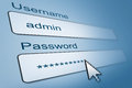 Login with username and password Royalty Free Stock Photo