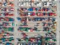 Logistic hub Royalty Free Stock Photo