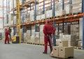 Pracovníci v skladiště