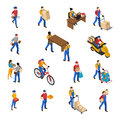 Logistics And Delivery Icons Set
