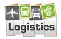 Logistics Green Grey Squares Stripes