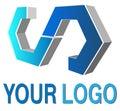 Logo 3d Arkivfoton