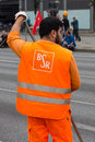 Logo of the Berlin Waste Management and City Cleaning company BSR