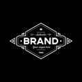 Logo brand black