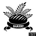 Logo with bread