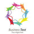 Logo business Stock Photo