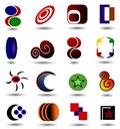 Logo Collection Stock Photo