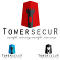 Logo concept general security guard symbol illustration icon Stock Photo