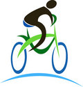 Logo de cycle Photos libres de droits