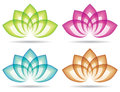 Logo de Lotus Photo stock