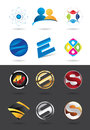 Logo design collection best of designs Royalty Free Stock Image