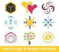 Logo and design elements Stock Photos