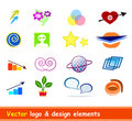 Logo & design elements vector Royalty Free Stock Photos