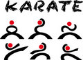 Logo karate Stock Photography